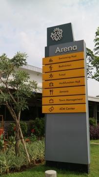 fasilitas umum lengkap di Arena